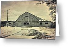 Larsen Road Barn Greeting Card