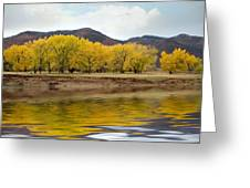 Las Animas Fall Greeting Card
