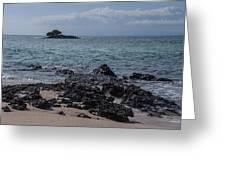 Las Bachas Beach Greeting Card