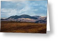 Las Trampas Hills Greeting Card