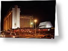 Las Vegas 1980 #11 Greeting Card