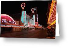 Las Vegas 1983 #4 Greeting Card