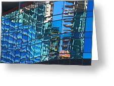 Las Vegas City Center Reflection Greeting Card