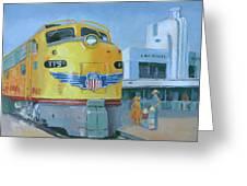 Las Vegas Dream Train Greeting Card