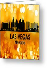 Las Vegas Nv 3 Vertical Greeting Card
