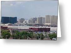 Las Vegas Panoramic View Greeting Card