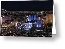 Las Vegas Strip 1 Greeting Card