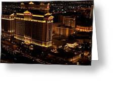 Las Vegas Strip I Greeting Card