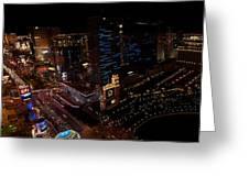 Las Vegas Strip IIi Greeting Card
