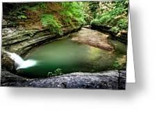 Lasalle Canyon Pool Greeting Card