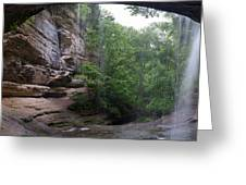 Lasalle Canyon Starved Rock State Park Greeting Card