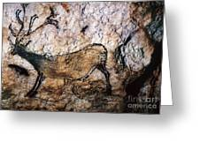 Lascaux: Running Deer Greeting Card