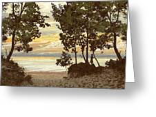 Last Day Of Summer Greeting Card