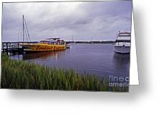 Last Ferry To Lookout Greeting Card