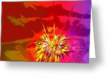 Last Flash Greeting Card
