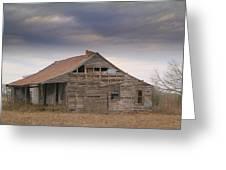 Last House.. Greeting Card