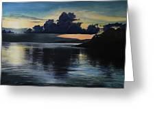 Last Look At Lusias Lagoon Greeting Card