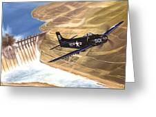 Last Of The Dambusters Greeting Card by Marc Stewart