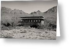 Last Stop Tucson Greeting Card