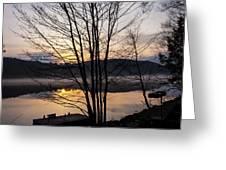 Spring Sunset - New Beginnings Coming Greeting Card