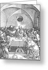 Last Supper 1510 Greeting Card