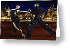 Last Tango In Paris Greeting Card