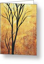 Last Tree Standing By Madart Greeting Card