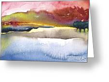 Late Afternoon 01 Greeting Card