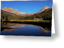 Late Afternoon At Mcclure Meadow Greeting Card