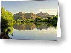 Late Afternoon At Rio Verde River Greeting Card