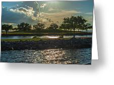Late Afternoon Greeting Card