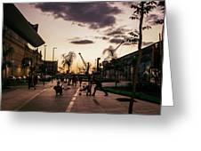 Late Afternoon. Greeting Card