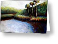 Late Afternoon On Spruce Creek Greeting Card
