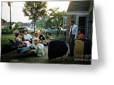 Late Afternoon Summer Party Greeting Card