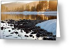 Late Aternoon  Lake Tahoe Greeting Card