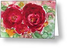 Late Autumn Rose Greeting Card