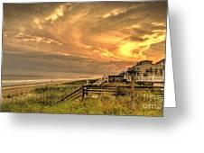 Late Day Beach Greeting Card