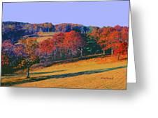 Late Fall Biltmore Estates Greeting Card