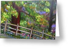 Late Summer At Pennypack Preserve Greeting Card