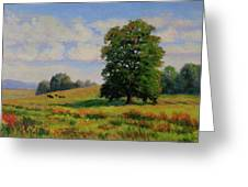 Late Summer Pastoral Greeting Card