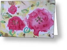 Late Summer Rose I Rosarie Greeting Card