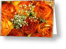 Late Summer Roses Greeting Card