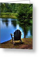 Late Summer Shadows Greeting Card