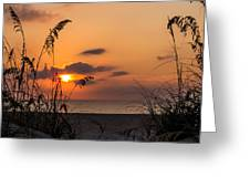 Late Sunrise 3 Greeting Card
