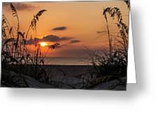 Late Sunrise Greeting Card