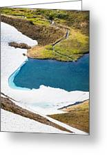 Late Thawing Tarn Greeting Card