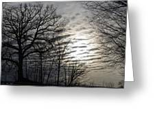 Late Winter Afternoon Greeting Card