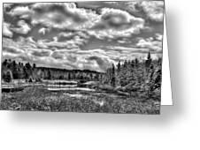 Late Winter At The Tobie Trail Bridge 2 Greeting Card