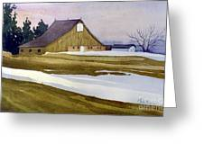 Late Winter Melt Greeting Card