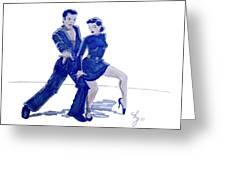 Latin Ballroom Greeting Card